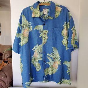 100% silk Hawaiian shirt